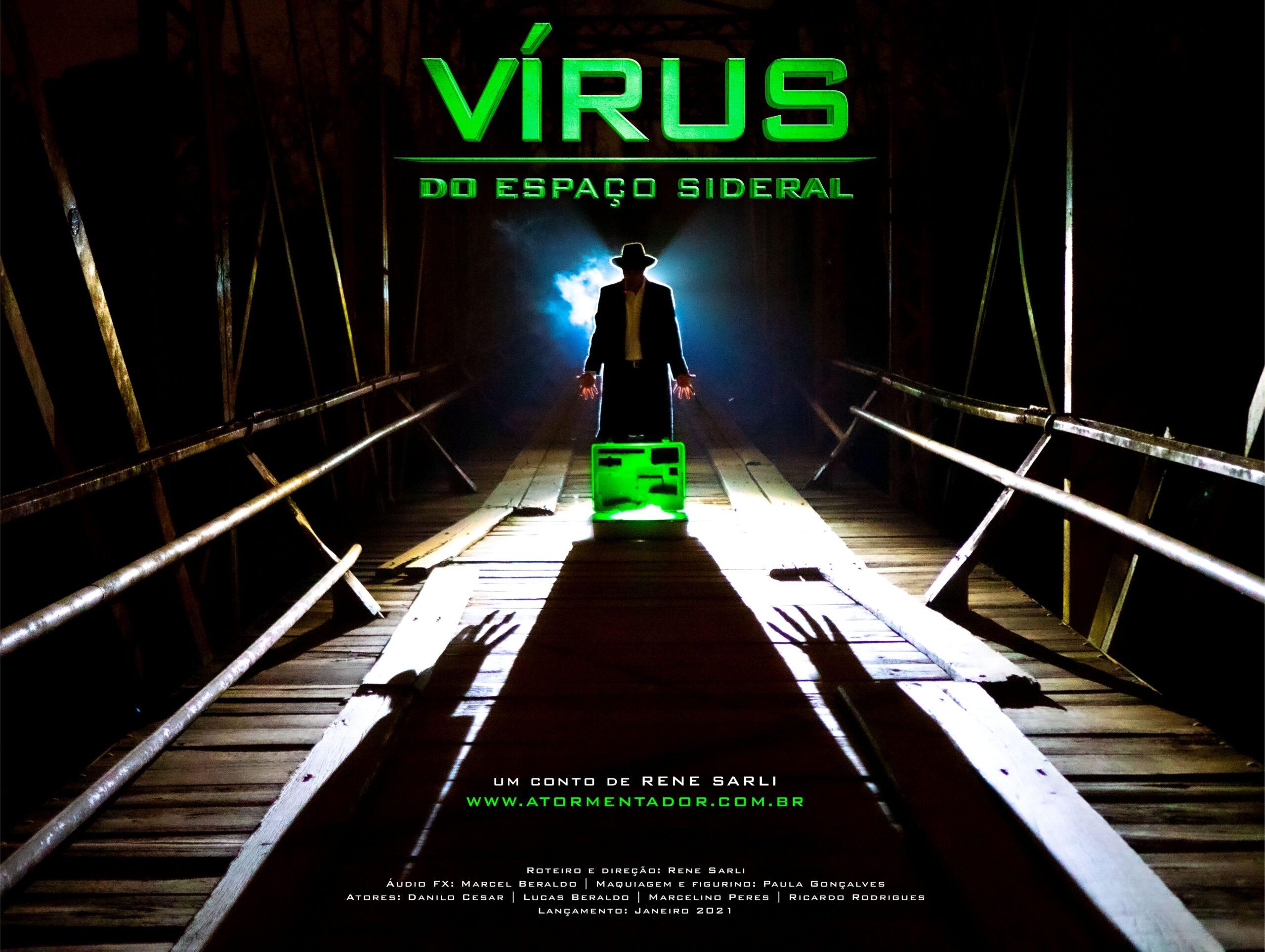 Poster - O vírus do Espaço Sideral - Curta Metragem